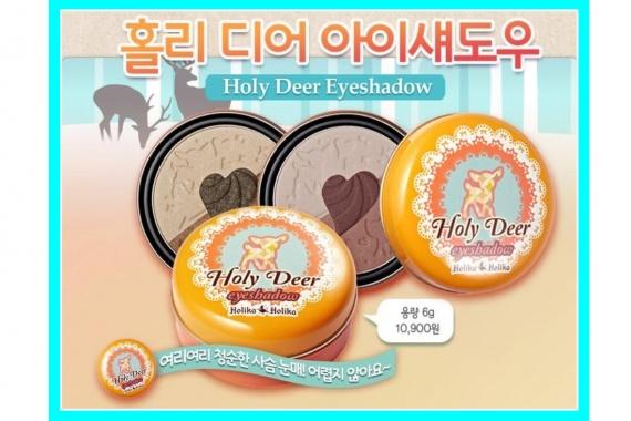 Отзывы об азиатской косметике: Holika Holika Holy Deer Eyeshadow (тени для век)