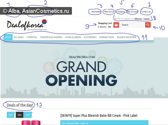 Шопоголикам: Dealofkorea.com –Поздравляю с открытием!