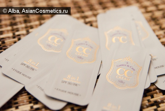 Отзывы об азиатской косметике: Etude House Correct and Care CC Cream Silky