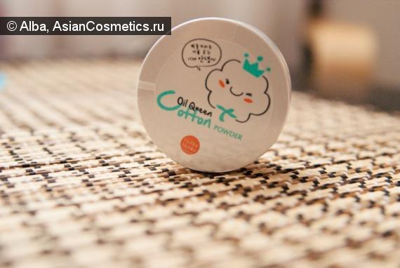 Отзывы об азиатской косметике: Holika Holika Oil Queen Cotton Powder