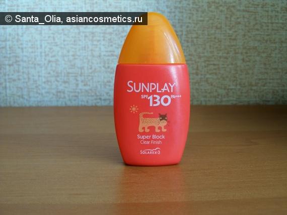 Отзывы об азиатской косметике: Mentholatum Sunplay SPF 130