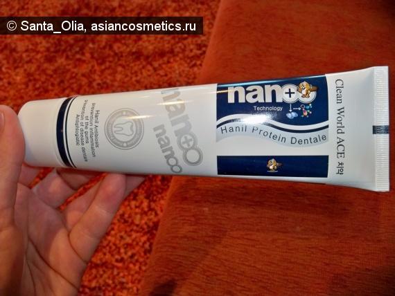 Отзывы об азиатской косметике: Зубная паста и ионами серебра Hanil Protein Dentale от Clean World Ace