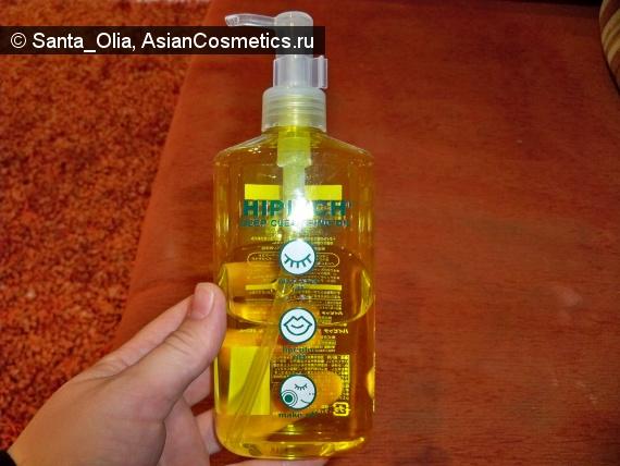 Отзывы об азиатской косметике: Гидрофильное масло Hipitch Deep Cleansing Oil