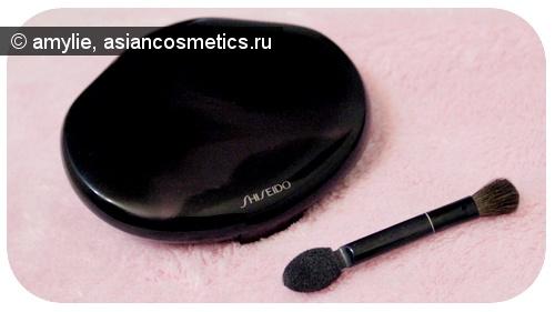 Отзывы об азиатской косметике: Двухцветные тени Shiseido Silky Eye Shadow Duo