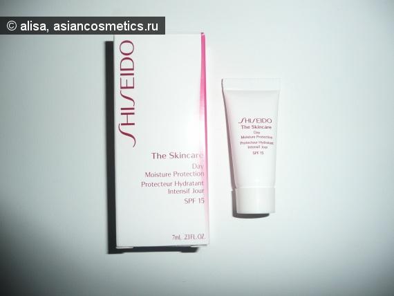 Отзывы об азиатской косметике: Дневной защитный крем от Shiseido