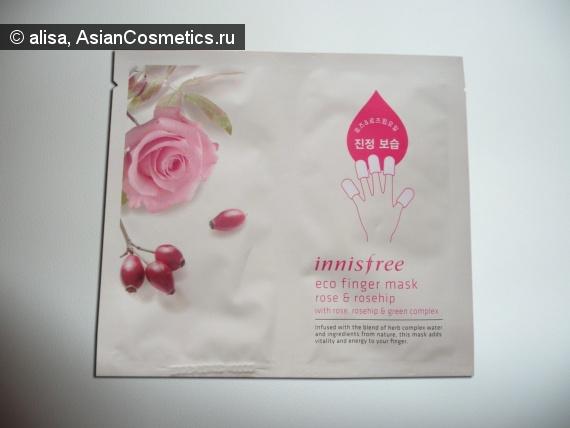 Отзывы: Маска для пальцев Innisfree Eco Finger Mask - Rose & Rosehip