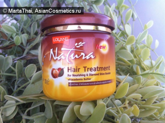 Отзывы об азиатской косметике: Маска для волос Lolane