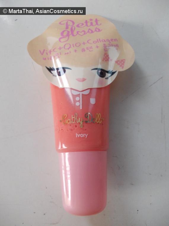 Отзывы об азиатской косметике: Блеск для губ Cathy Doll