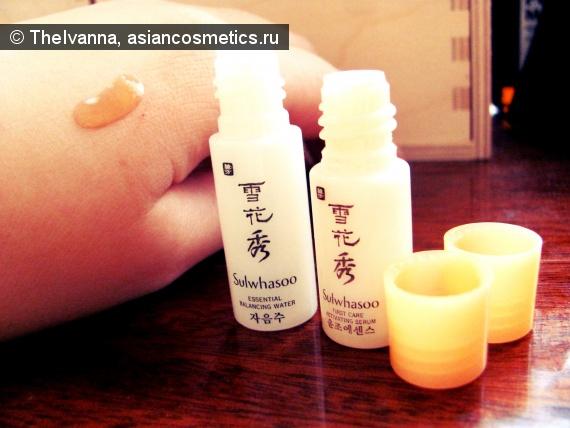Отзывы об азиатской косметике: First Care Activating Serum и Essential Balancing Water – вспомогательный, но, безусловно, полезные средства от Sulwhasoo.