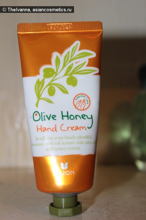 Отзывы об азиатской косметике: Отличный «спасатель» для рук в холодное время года -  оливково медовый крем для рук от Mizon