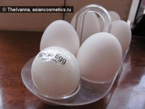 Отзывы об азиатской косметике: Holika Holika Egg soap – белое мыло ручной работы
