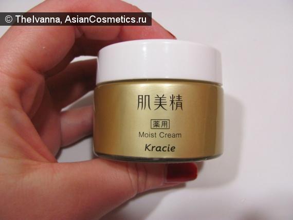 Отзывы об азиатской косметике: Очередная увлажнялка на моём туалетном столике - KRACIE Moist Cream