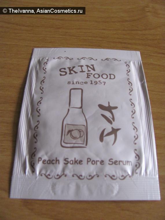 Отзывы об азиатской косметике: SKINFOOD Peach Sake Pore Serum