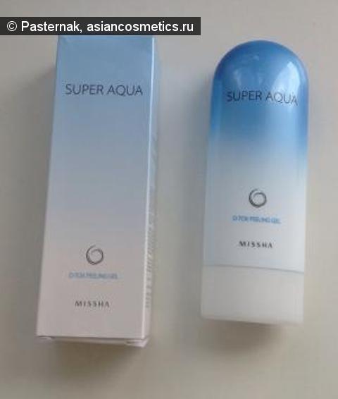 Отзывы об азиатской косметике: MISSHA SUPER AQUA DETOXIFYING PEELING GEL - средство для салонной чистки лица.