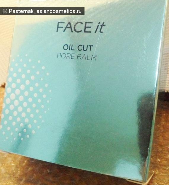 Отзывы об азиатской косметике: Идеальное лицо с The Face Shop FACE it Oil Cut Pore Balm