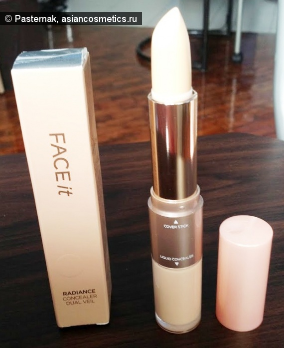 Отзывы об азиатской косметике: Полюбившийся консилер The Face Shop Face It Radiance Concealer Dual Veil