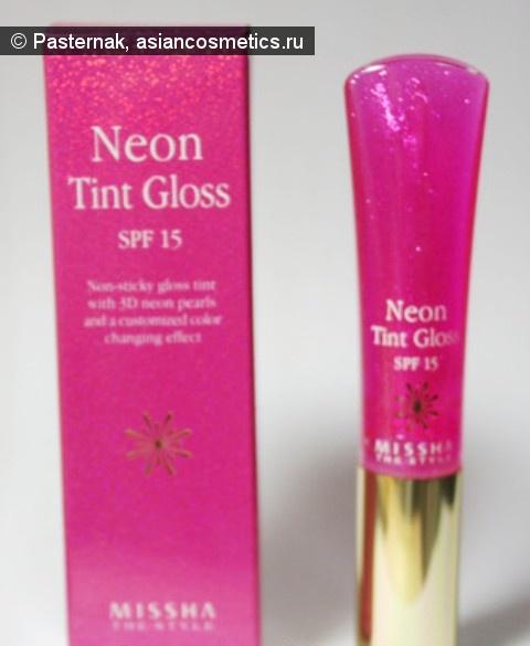 Отзывы об азиатской косметике: Великолепные губки с Neon Tint Gloss от Missha