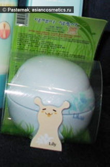 Отзывы об азиатской косметике: Еще одна улыбка - The Saem Snail Trio Hand Cream (Lily)