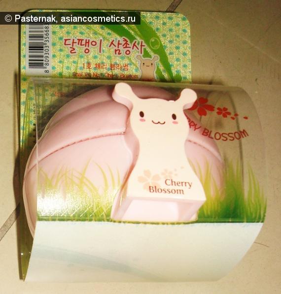 Отзывы об азиатской косметике: Розовая улитка - The Saem Snail Trio Hand Cream