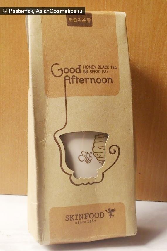 Отзывы об азиатской косметике: Чашечка чая или Skin Food Good Afternoon Honey Black Tea BB Cream