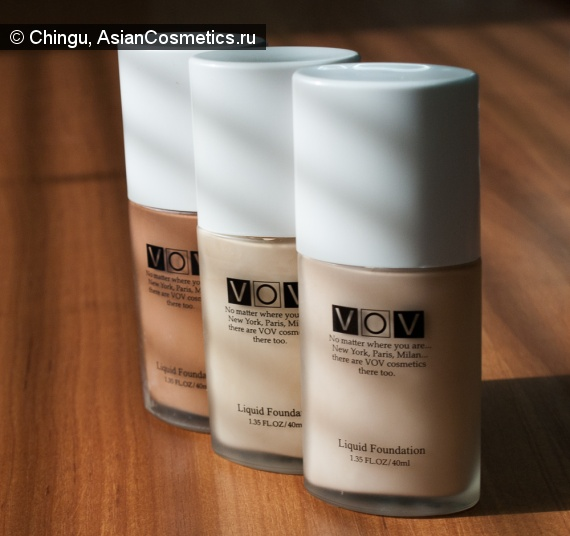 Отзывы: VOV Liquid Foundation