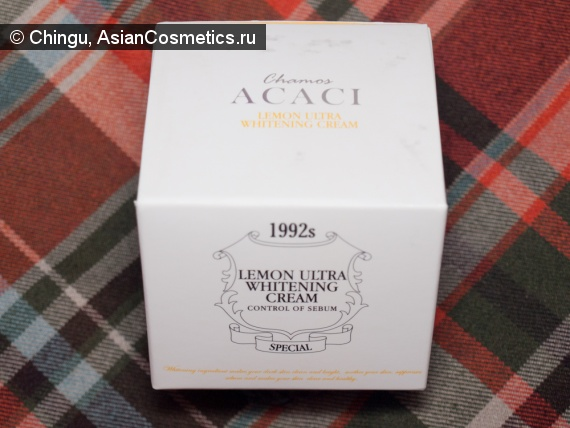 Отзывы: ACACI  lemon ultra whitening cream отзыв