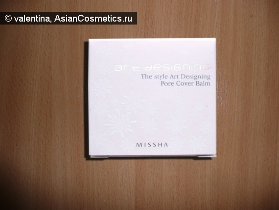 Отзывы: База под макияж Missha The Style Art Designing Pore Cover Balm