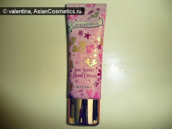 Отзывы: MISSHA Love Secret hand cream Cherry Blossom