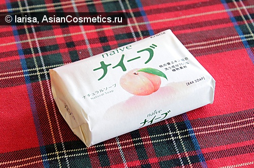 Отзывы: Японское мыло для тела Naive, а есть ли разница?
