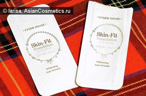 Отзывы: Легкая, как воздух, Skin Fit Foundation от Etude House