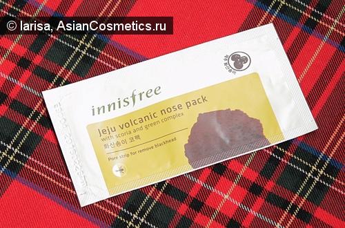 Отзывы: Полоски для очищения пор Innisfree Jeju volcanic nose pack