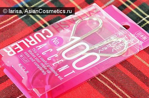 Отзывы: Японские щипцы для завивки ресниц Koji Accent Eyelash Curler  No.100