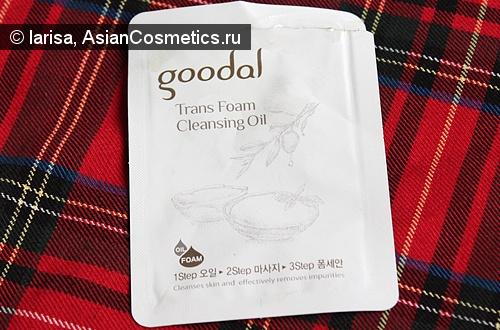 Отзывы: Очищающее масло «Goo dal Trans Foam Cleansing Oil»