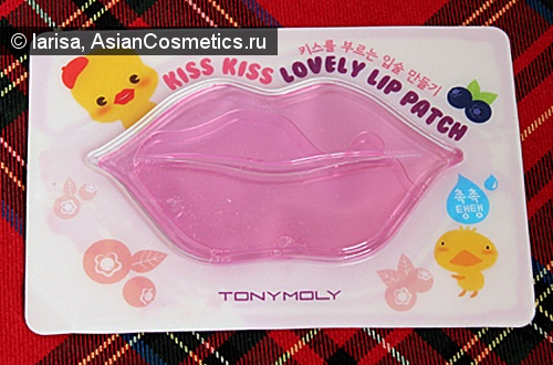 Отзывы: Маска для губ «Tony Moly Kiss Kiss Lovely Lip Patch»