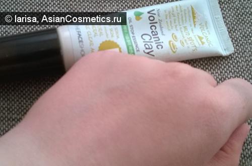Отзывы: Матирующая эссенция The Face Shop Volcanic Clay Oil Stop Essence