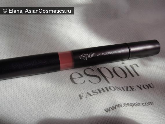 Отзывы: Кремовая помада Espoir lip lacquer extreme fit
