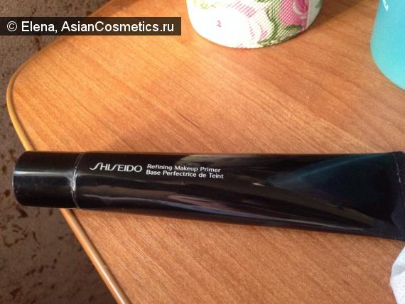 Отзывы: Выравнивающая база под макияж Shiseido Refining Makeup Primer SPF 15.