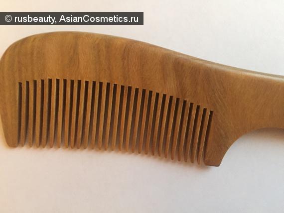 Отзывы: Натуральная расческа из сандала. Улучшит блеск ваших волос.