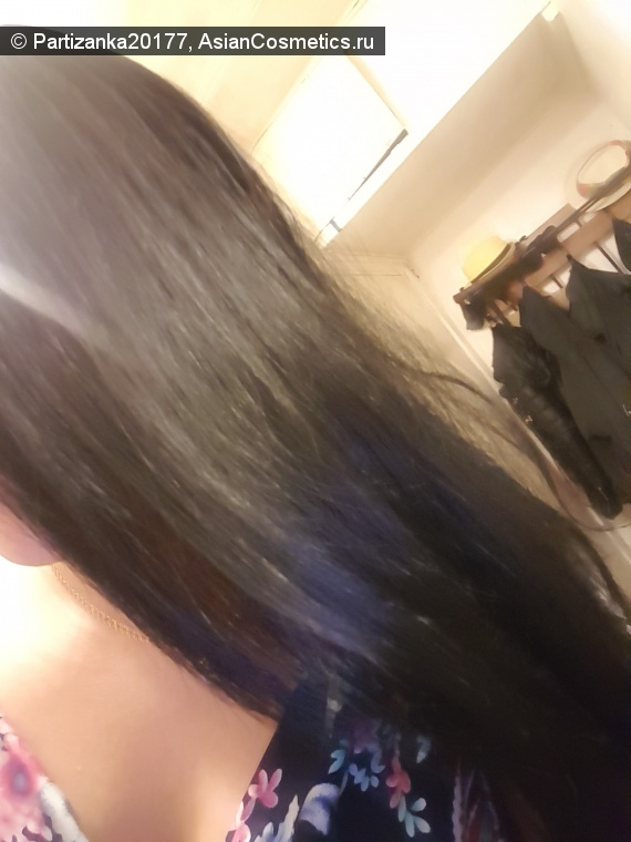 Отзывы: Блеск моих волос сразу же после использования